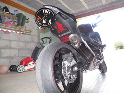 kawasaki z800 stickers paso rueda