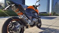 kawasaki z800E adhesivo paso rueda