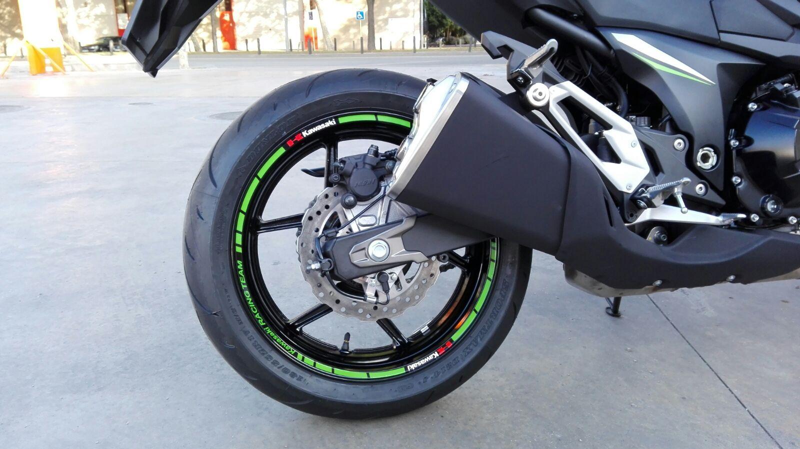 moto ruedas adhesivos stickers