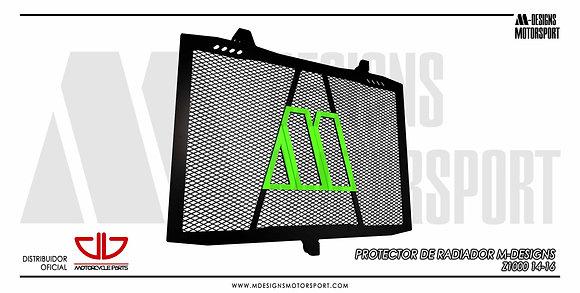 Protector radiador CIO M-DESIGNS Z1000 14-20