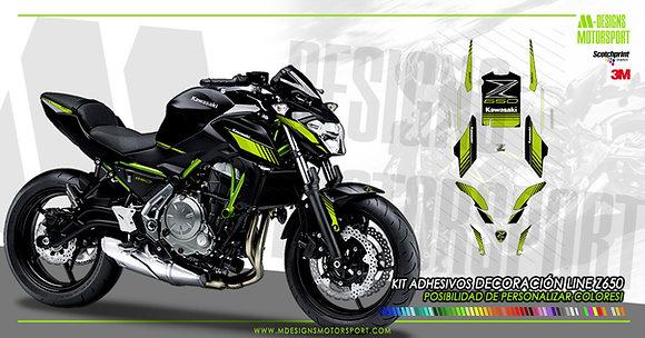 Kit sport LINE decoración z650