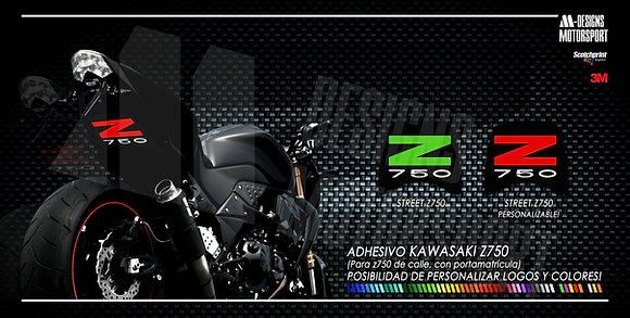 STREET Z750 paso de rueda z750