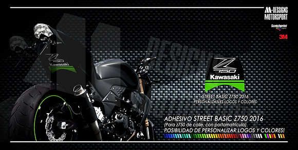 STREET BASIC RACING Z750 paso de rueda z750