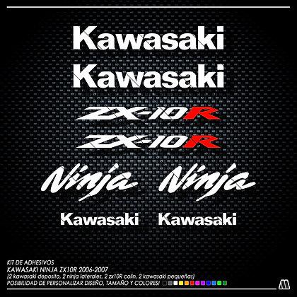 Logos ZX10R 2006-2007