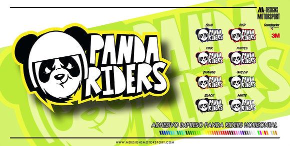 PANDA RIDERS HORIZONTAL