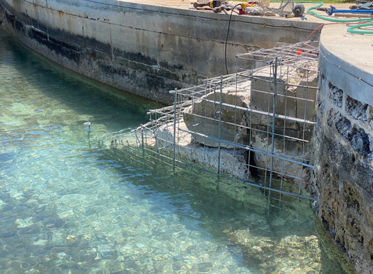 AMML - Atlantic Mooring - Marine Contracting division completes Waterfront Stairs