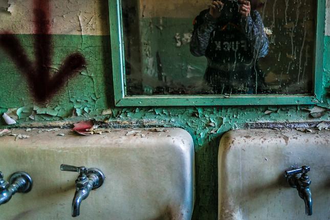 Sink Selfie