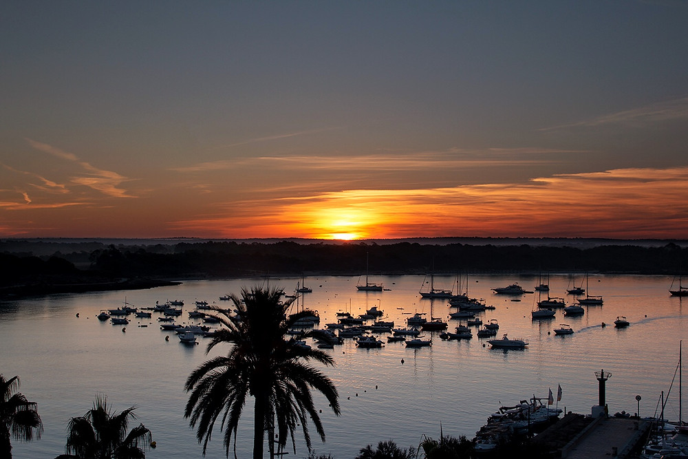 Sunset from Sant Jordi, Mallorca