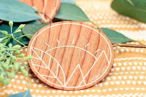 Lum A Terra Wooden Stickers