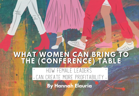 What Women Bring To The (Conference) Table