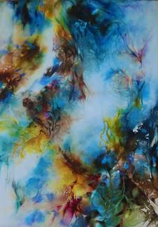 Collection abstraite d'illusions et de rêves