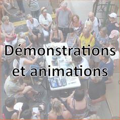 Les démonstrations et animations