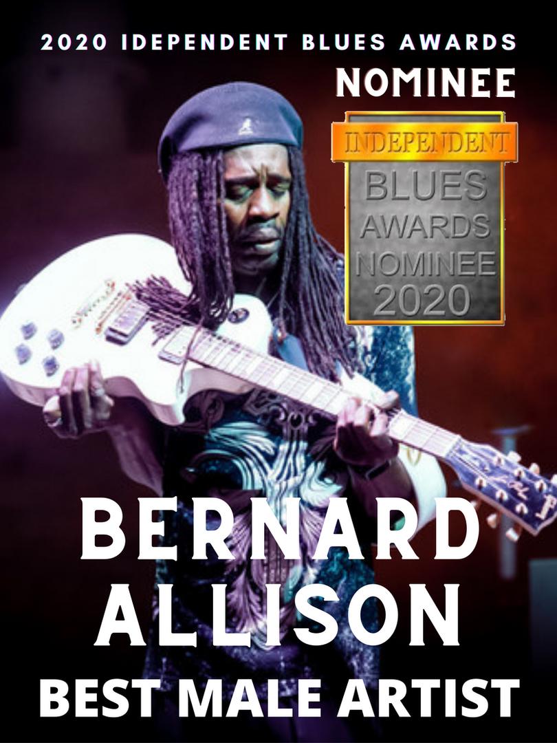 Bernard Allison Nominated for Best Male Artist