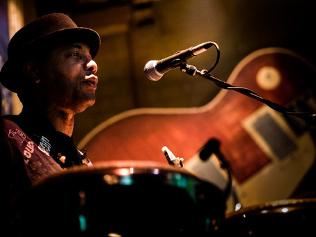 Jose James Saxophone and Percussion Extraordinaire! A man of many talents!