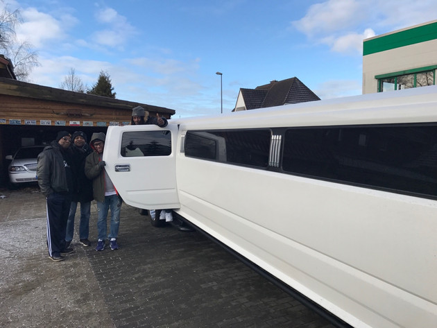 Riding in style with The Bernard Allison Group! Adventures in Germany,having fun and getting veryS