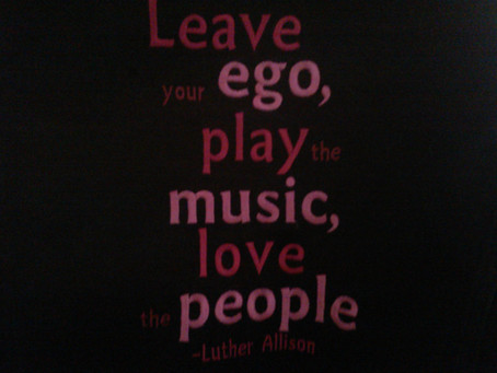 The Allison Way! This is for all the friends, fans and family who have supported the music! We could