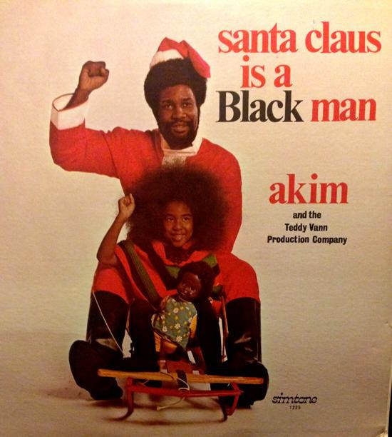 """Santa Claus is a Black Man""...that is the title of our 5th day of Christmas!"