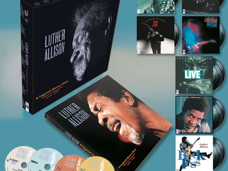 LUTHER ALLISON-A Legend Never Dies-SOON AVAILABLE by RUF Records!
