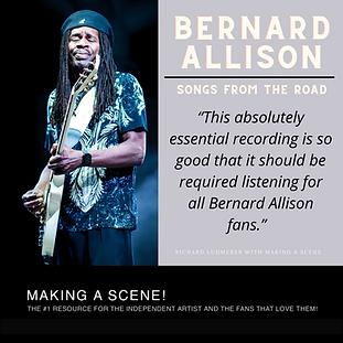 Bernard Allison Making A Scene