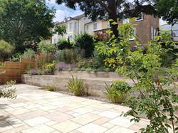 Garden view 9 months on