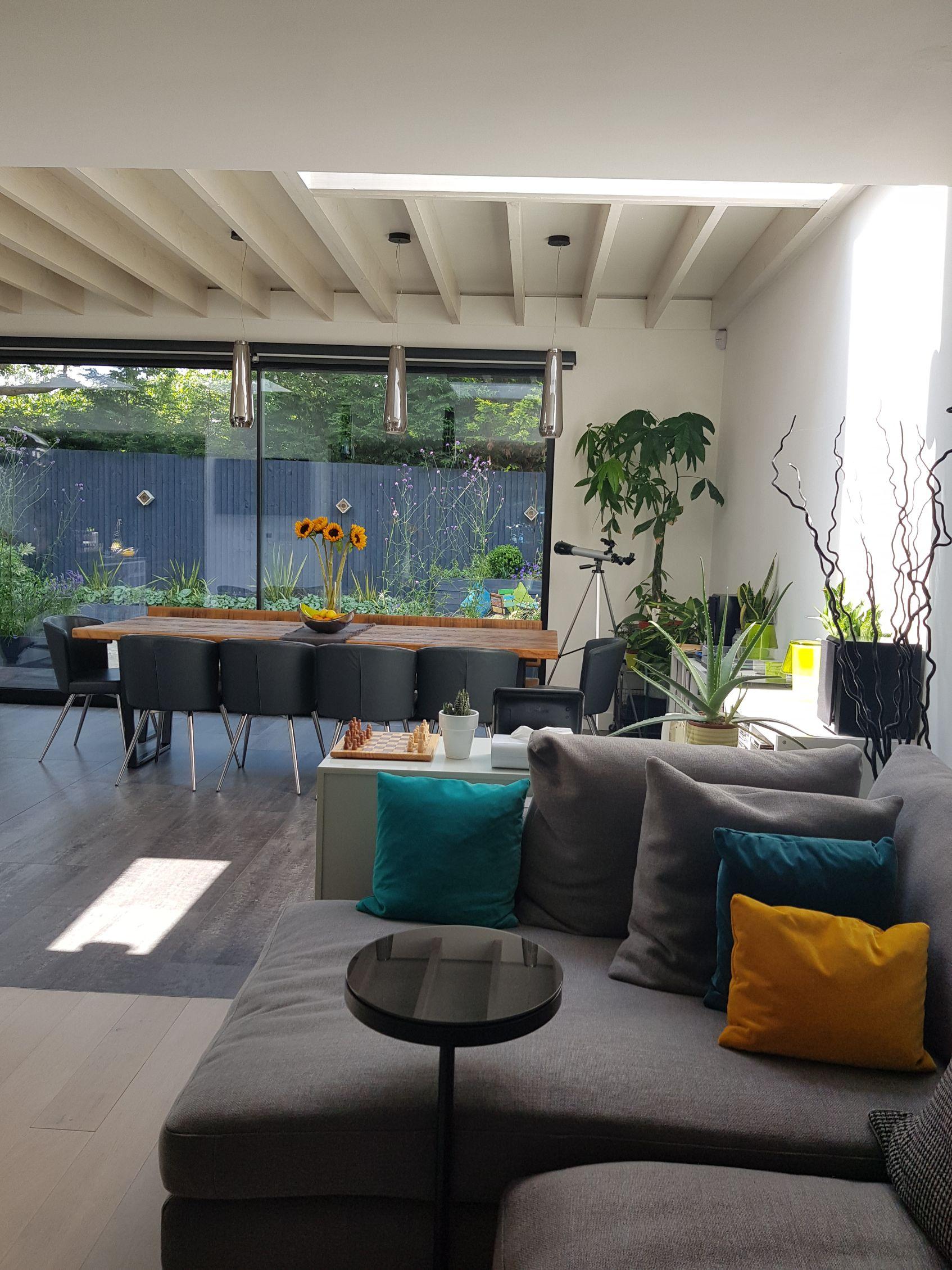 Interior & exterior design combine
