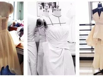 服装打版课--第一次自己做衣服,好有成就感!
