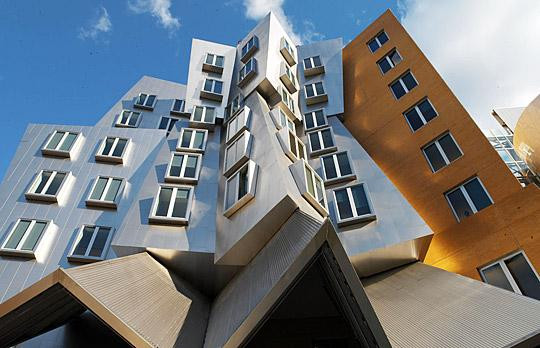 建筑系的教学大楼,看着就想去