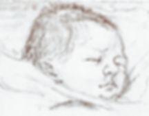 New-born baby by John Harvey