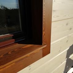 Отделка окна