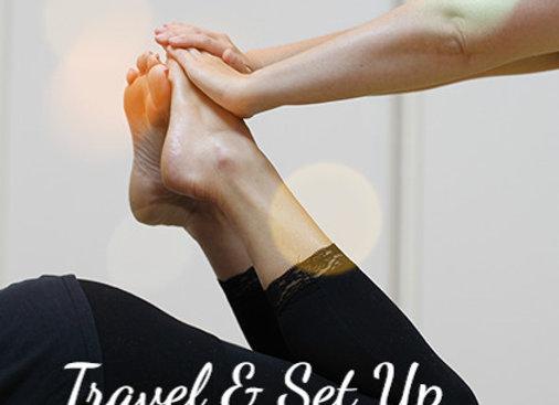 Travel & Set Up Fee