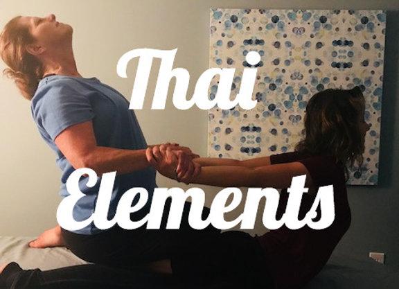 Thai Elements: Supine & Prone Table Techniques