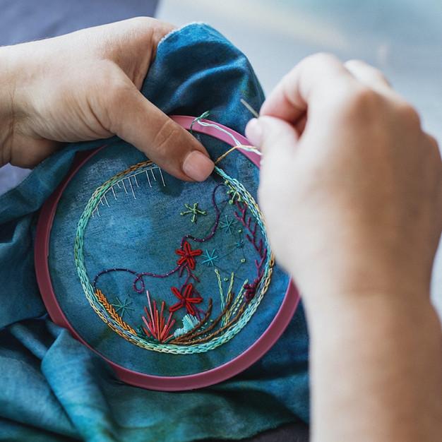 Fibre Art : Stitch