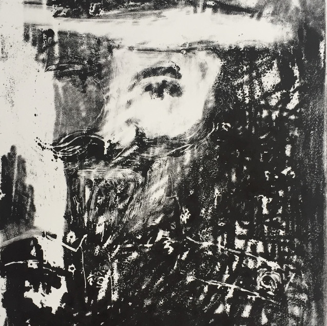 Young Wilbraham Liardet small monoprint.