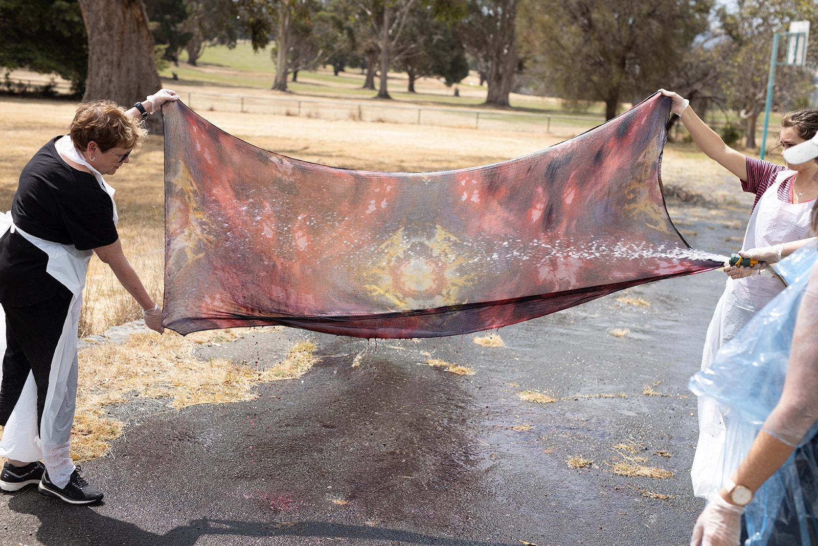 FATA20 LS-385 fibre art dye felt
