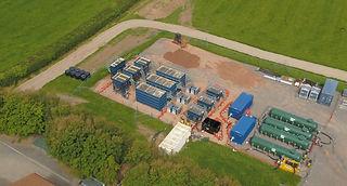 Modular WwTW - During refurbishment of MBR treatment plant