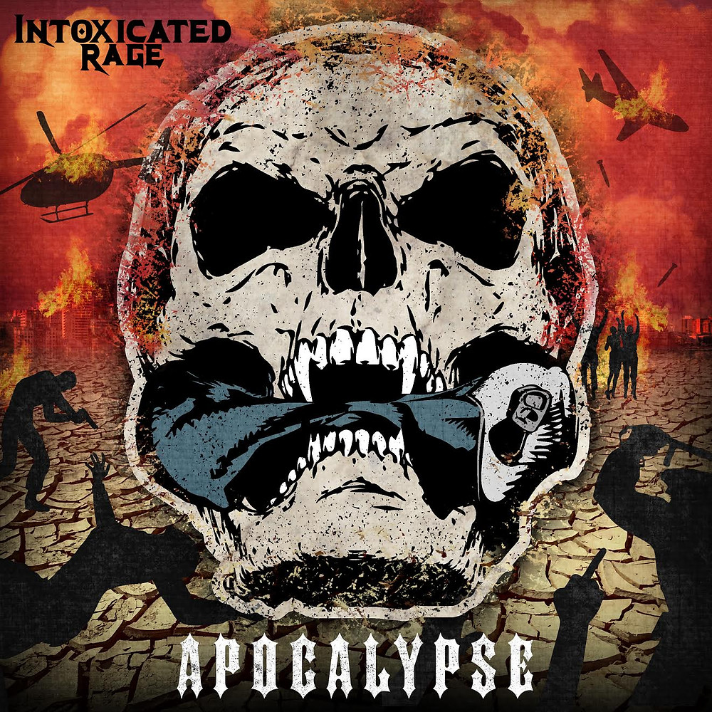 """Our debut album """"APOCALYPSE"""" will be available here on March 11th 2018"""