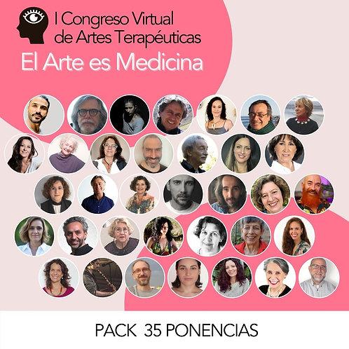 PACK 35 CONFERENCIAS - EL ARTE ES MEDICINA