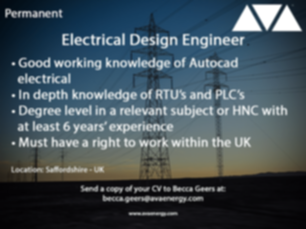 Electrical Design Engineering job based in staffordshire