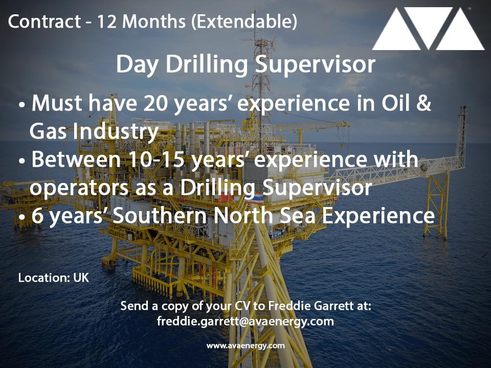 Day Drilling Supervisor-min