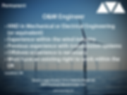 O&M Engineer wind power job based in the UK