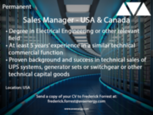Sales Manager UPS job vacancy based in the USA