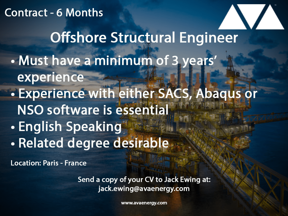 Offshore Structural Engineer-min