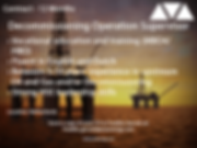 decommissioning operation supervisor oil and gas job based in the Netherlands