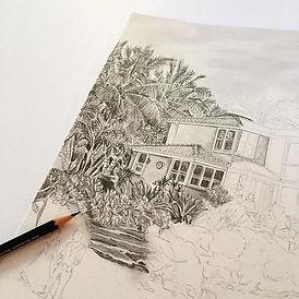 Sunday sketching! ✏️ ✏️ ✏️ #workinprogre