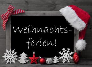 Ferien / Öffnungszeiten Weihnachten - Neujahr