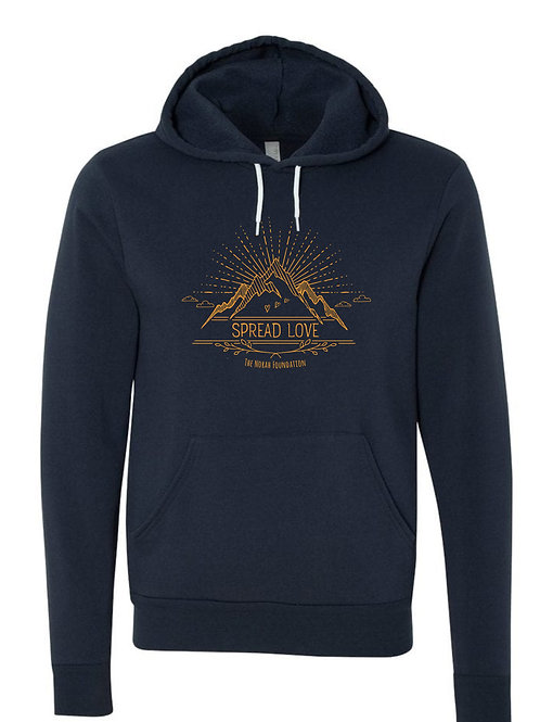Youth Spread Love Mountain Hoodie