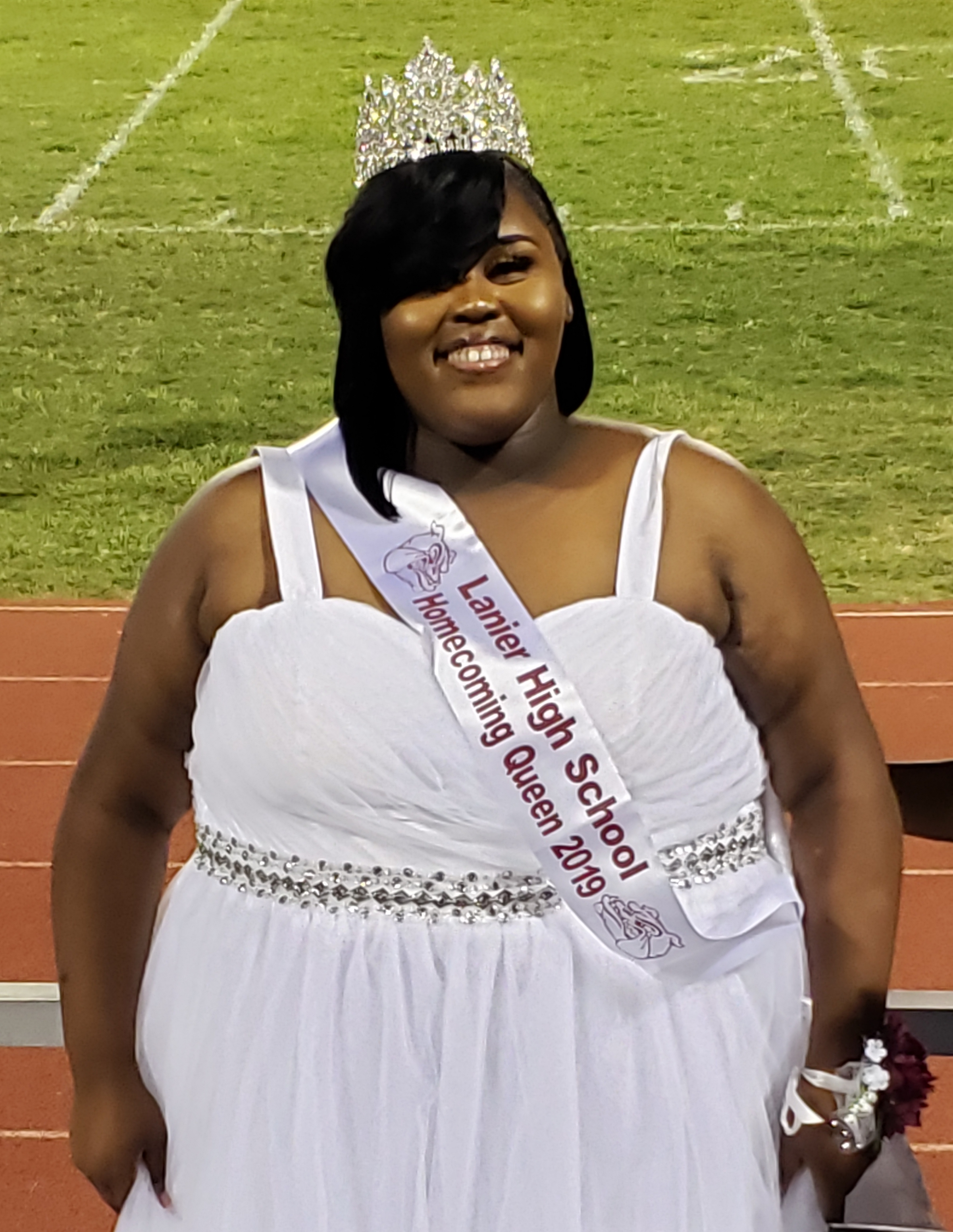 Homecoming Quieen, Miss Katarria Austin