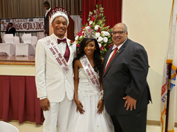 Mr. and Miss Lanier with State Rep