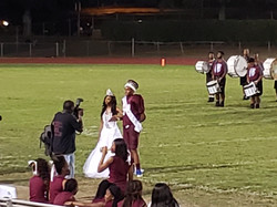 Mr. and Miss Lanier on Field