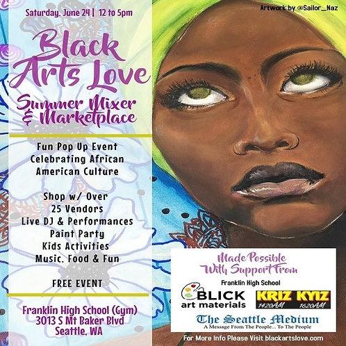 Black Love Arts Mixer & Marketplace
